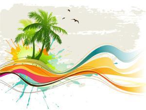 Summer Background by Misha