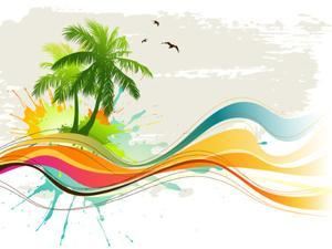 Summer Background by Misha