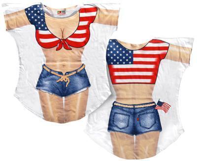 Miss America Bikini Cover-Up
