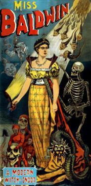 Miss Baldwin, A Modern Witch of Endor