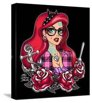 Tattooed Ariel by Miss Cherry Martini