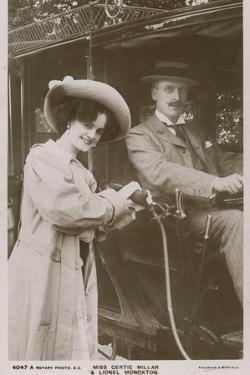 Miss Gertie Millar and Lionel Monckton