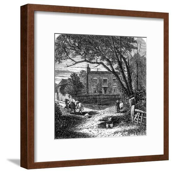 Miss Mitford's Home--Framed Giclee Print
