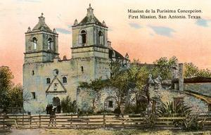 Mission de la Purisima Concepcion, San Antonio, Texas
