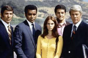 Mission : impossible with Leonard Nimoy, Greg Morris, Lesley Ann Warren, Peter Lupus and Peter Grav