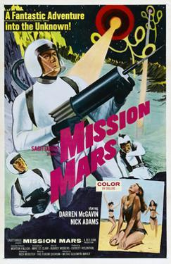 Mission Mars, Darren McGavin, 1968