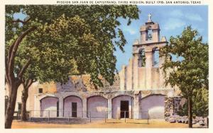 Mission San Juan de Capistrano, San Antonio, Texas