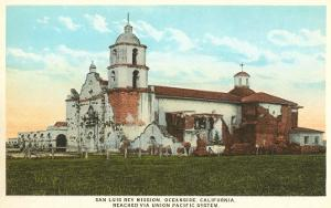 Mission San Luis Rey, Oceanside, San Diego County, California