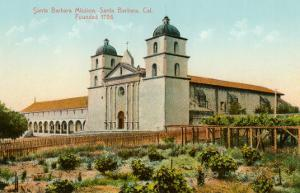 Mission, Santa Barbara, California