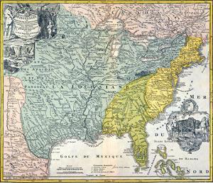 Mississippi Region, 1687