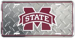 Mississippi State Diamond License Plate