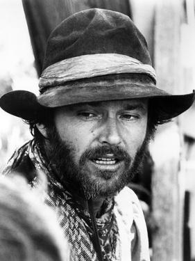Missouri Breaks by Arthur Penn with Jack Nicholson, 1976 (b/w photo)