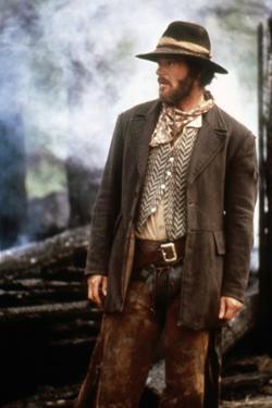 Missouri Breaks by Arthur Penn with Jack Nicholson, 1976 (photo)