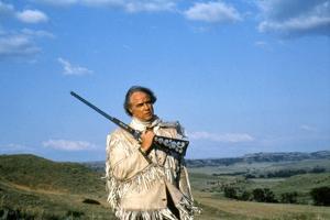 Missouri Breaks by Arthur Penn with Marlon Brando, 1976 (photo)