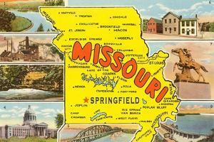 Missouri Scenes and Map