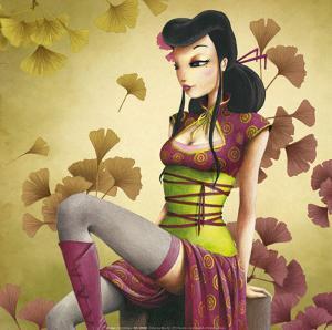 Miss Ginkgo by Misstigri