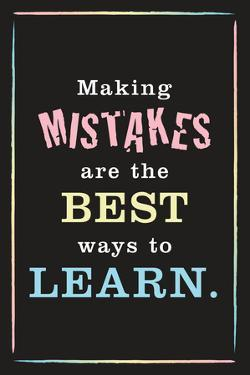 Mistakes Are the Best Way to Learn