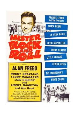 Mister Rock and Roll, Alan Freed, Little Richard with his band, 1957