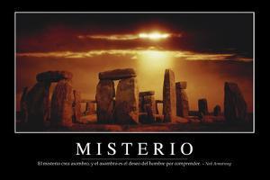Misterio. Cita Inspiradora Y Póster Motivacional