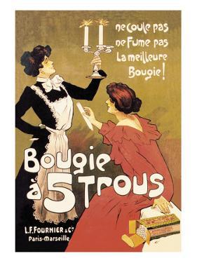 Bougie a 5 Trous by Misti