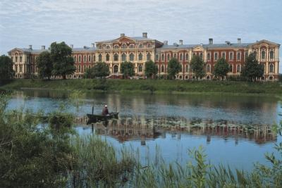 Mitava Palace or Jelgava Palace, 18th Century, Lielupe River, Latvia