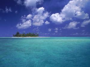 Bora Bora Lagoon, Pacific Islands by Mitch Diamond