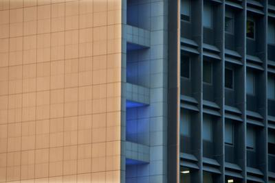 Office Building Abstract by Mitch Diamond