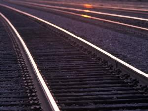 Railroad Tracks by Mitch Diamond