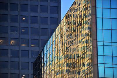 Skyscraper Reflections by Mitch Diamond