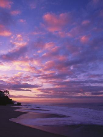 Sunset and the Ocean, CA by Mitch Diamond