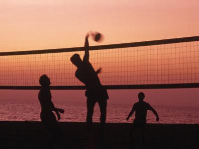 Sunset Beach Volleyball