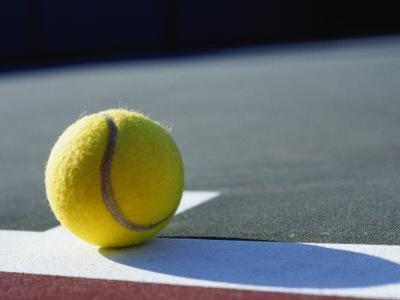 Tennis Ball by Mitch Diamond