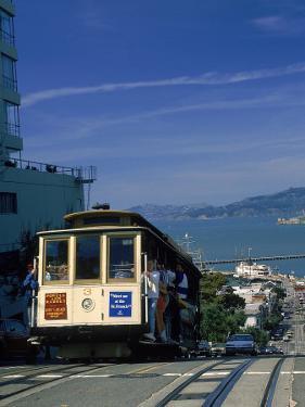 Trolley in Motion, San Francisco, CA by Mitch Diamond