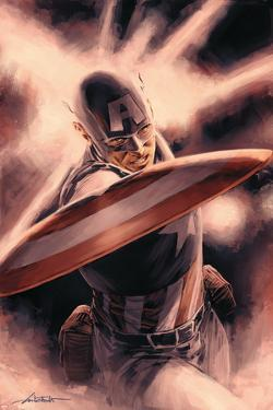 Captain America Theater of War: A Brother in Arms No.1 Cover: Captain America by Mitchell Breitweiser