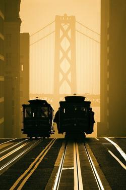Cable Cars, San Francisco by Mitchell Funk