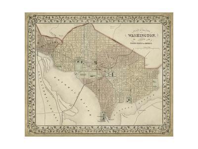 Plan of Washington, D.C.