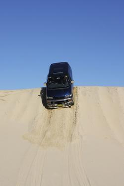 Mitsubishi Delica Space Gear V6 1996 in sand dunes New South Wales Australia