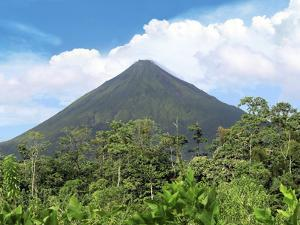 Arenal Volcano, Arenal Volcano National Park, Costa Rica by Miva Stock