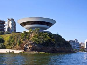 Museum of Contemporary Art, Rio De Janeiro, Brazil by Miva Stock