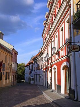 Pilias Street, Vilnius, Lithuania by Miva Stock
