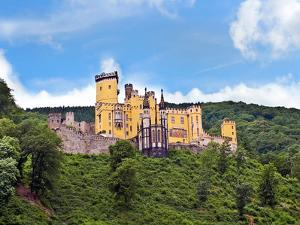 Schloss Stolzenfels, Koblenz, Germany by Miva Stock