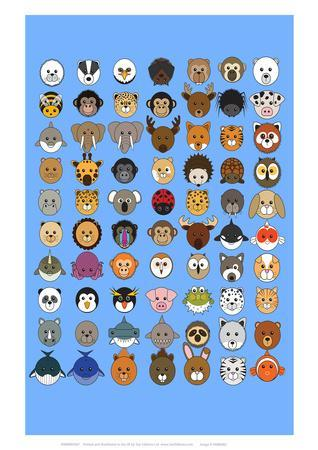 https://imgc.allpostersimages.com/img/posters/mixed-animaru-cartoon-animal-print_u-L-F88O6M0.jpg?p=0