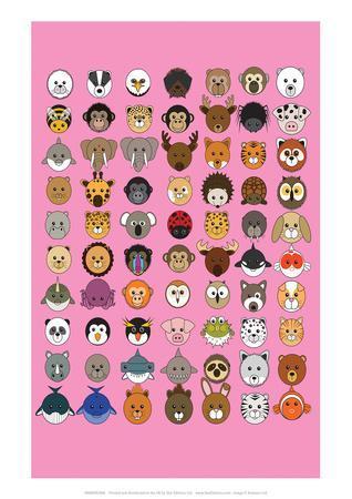 https://imgc.allpostersimages.com/img/posters/mixed-pink-animaru-cartoon-animal-print_u-L-F88O6I0.jpg?p=0