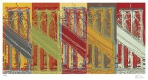 Brooklyn Bridge by Mj Lew