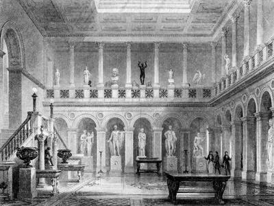 A Hall in Deepdene, Dorking, Surrey, 19th Century