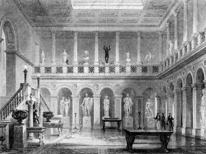 A Hall in Deepdene, Dorking, Surrey, 19th Century by MJ Starling