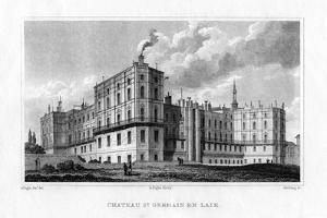 Chateau De Saint Germain En Laye, Paris, C1830 by MJ Starling