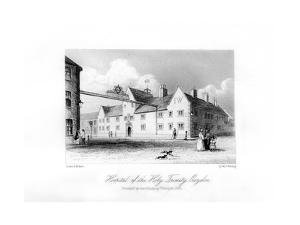 Hospital of the Holy Trinity, Croydon, 1840 by MJ Starling