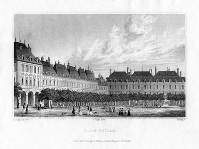 Place Royal, Paris, 1830