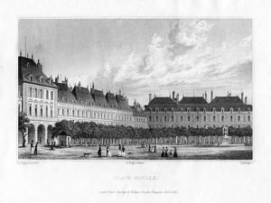 Place Royal, Paris, 1830 by MJ Starling